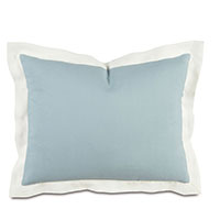Bel Air Linen Standard Sham in Sky