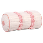 TULLE RUCHED BOLSTER