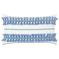 Castaway Trim Application Decorative Pillow