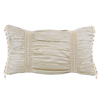JOLENE RUCHED DECORATIVE PILLOW