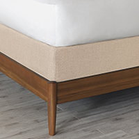 Vivo Bisque Box Spring Cover