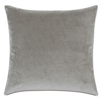 Plush Velvet Decorative Pillow In Dove