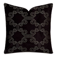 Elton Onyx Decorative Pillow