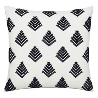 Leopold Black Decorative Pillow
