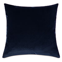 Plush Navy Decorative Pillow