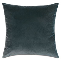 Plush Velvet Decorative Pillow In Ocean