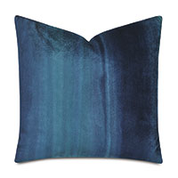 Ombre Peacock Decorative Pillow