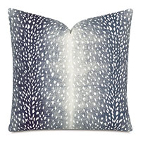 Wiley Ombre Decorative Pillow in Navy