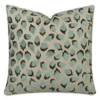 Ocelot Decorative Pillow In Spa