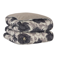 Midnight Poppy Duvet Cover