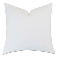 HONEYDEW MATELASSE EURO SHAM IN WHITE