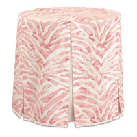 Asa Blush Skirted Table Cloth