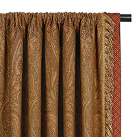 GLENWOOD CURTAIN PANEL LEFT