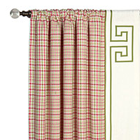 BLIGHT ROSE CURTAIN PANEL LEFT