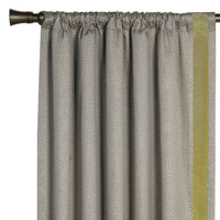 GARZA PEBBLE CURTAIN PANEL LEFT