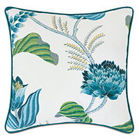 CLEMENTINE EMBROIDERED DECORATIVE PILLOW