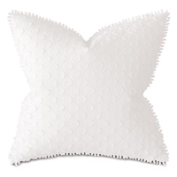 Paris Fil Coupe Decorative Pillow