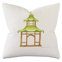 Dublin Pagoda Decorative Pillow