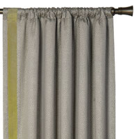 GARZA PEBBLE CURTAIN PANEL RIGHT