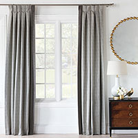 ZEPHYR METALLIC CURTAIN PANEL