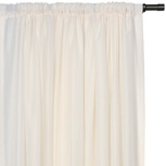 SADLER IVORY CURTAIN PANEL