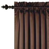 CHARMEUSE MOCHA CURTAIN PANEL