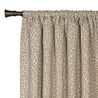 PARRISH FAWN CURTAIN PANEL