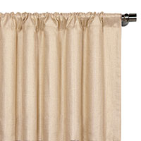 Meridian Cream Curtain Panel