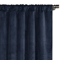 Nellis Azure Curtain Panel