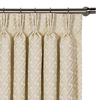 Roscoe Vanilla Curtain Panel