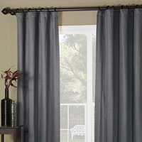WITCOFF SLATE CURTAIN PANEL