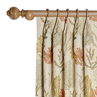 CAICOS CURTAIN PANEL (DW)