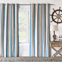 Maritime Marine Curtain Panel