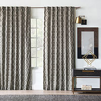 Echo Ogee Curtain Panel