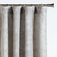 PERSEA BROKEN STRIPE CURTAIN PANEL