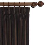 JACKSON BROWN CURTAIN PANEL (DW)