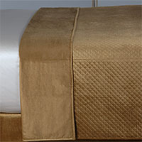 REUSS GOLD COVERLET