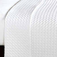 CRUISE WHITE COVERLET (K)