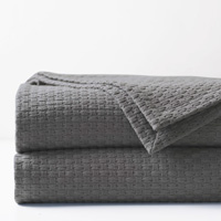 Tegan Matelasse Coverlet in Dove