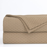 Tegan Matelasse Coverlet in Sand
