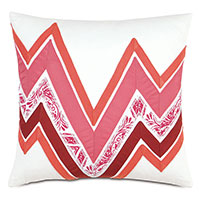Adelle Ombre Decorative Pillow in Pink