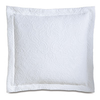 Sandrine White Decorative Pillow