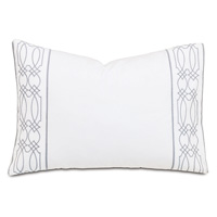 Nicola Gray Oblong Accent Pillow