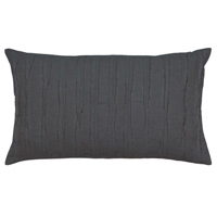 Shiloh Charcoal Oblong Decorative Pillow