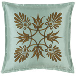 ANTHEMION OCEAN/BROWN DEC PILLOW A