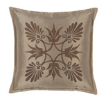 ANTHEMION TAUPE/BROWN DEC PILLOW A