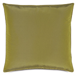 Freda Taffeta Decorative Pillow in Chartreuse