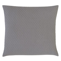 Tegan Matelasse Decorative Pillow in Dove