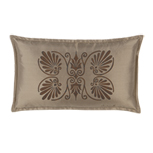 ANTHEMION TAUPE/BROWN DEC PILLOW B
