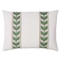 Akela Leaf Decorative Pillow in Green
